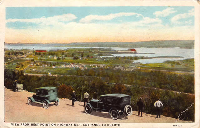 Click the image to see the Historic U.S. 61 postcards page!