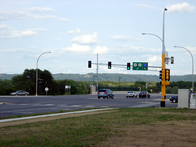 New junction with Highway 16 in La Crescent - Click image to see the gallery!