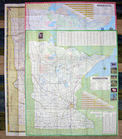The Evolution Of The Minnesota Official Highway Map - Minnesota highway map